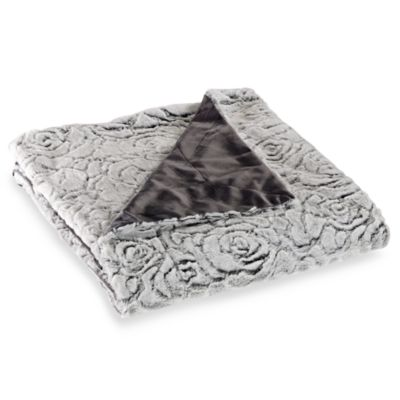 Azalea Reversible to Micro-Mink Throw