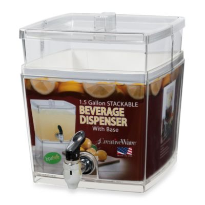 CreativeWare™ 1.5-Gallon Beverage Dispenser