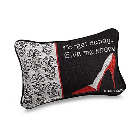 Forget Candy Decorative Throw Pillow