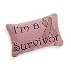 I'm a Survivor Decorative Toss Pillow