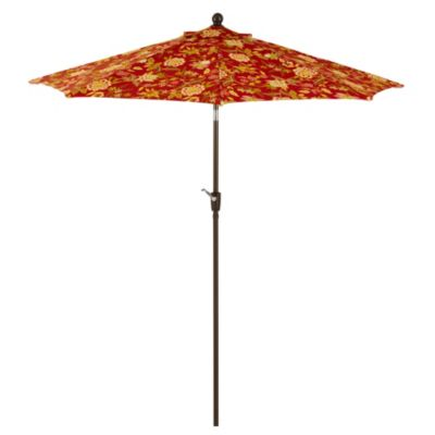 9-Foot Round Collar-Tilt Market Umbrella in Alberta