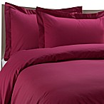Color Solutions™ Duvet Cover Set in Garnet