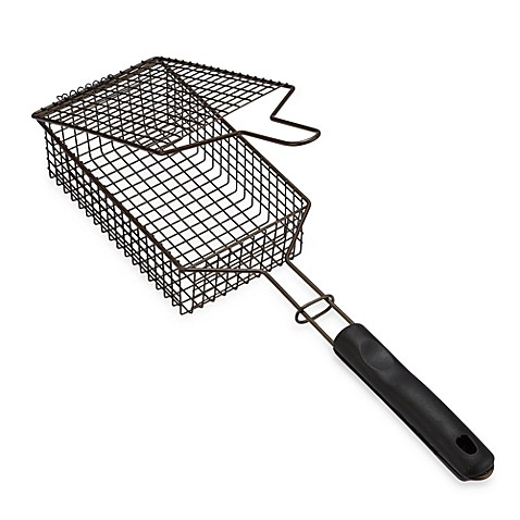 Buy Mini Flip Grill Basket From Bed Bath Amp Beyond