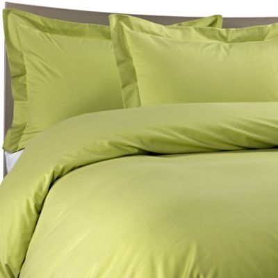 Color Solutions™ Duvet Cover Set in Grass