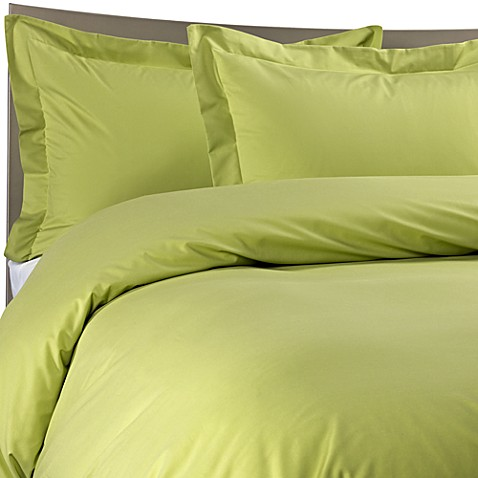 Color Solutions® King Duvet Cover Set in Grass