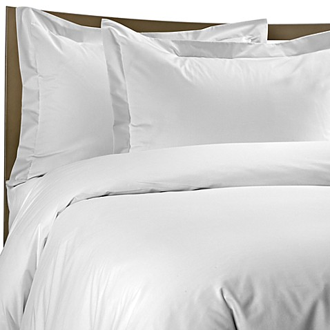 Color Solutions® Twin Duvet Cover Set in White