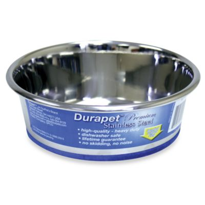 Durapet® Premium Stainless Steel 1.2-Pint Pet Bowl
