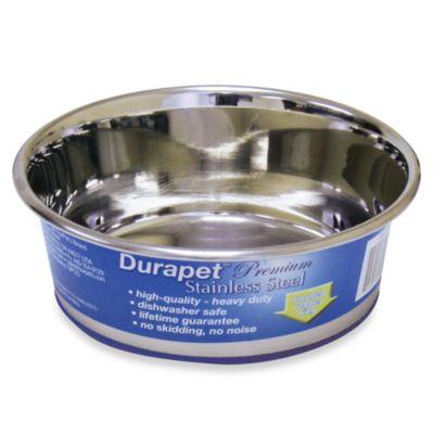 Durapet® Premium Stainless Steel 1.25-Quart Pet Bowl