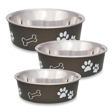 Bella Espresso Pet Bowl