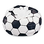 Large Soccer Ball Bean Bag Chair Cover