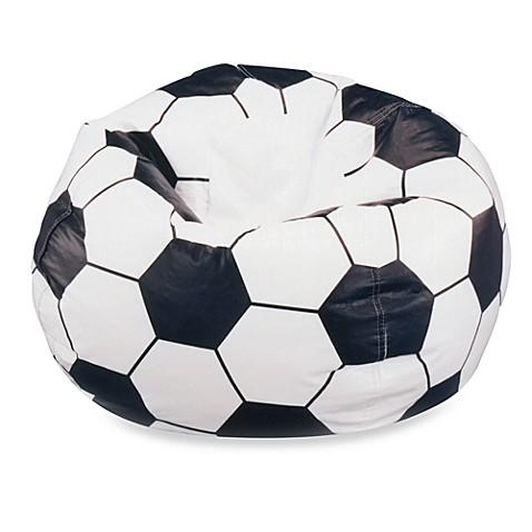 Football Bean Bag Chair Kids Big Joe Tough Fabric Sports TV Movies ...
