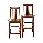 Crosley School House Bar Stools (2-Piece Sets)