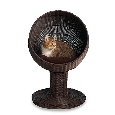 The Refined Feline™ Kitty Ball Cat Bed™