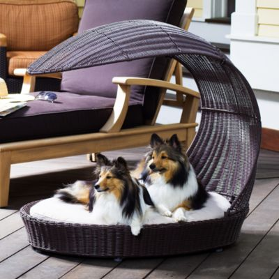 The Refined Canine™ Outdoor Dog Chaise Lounger
