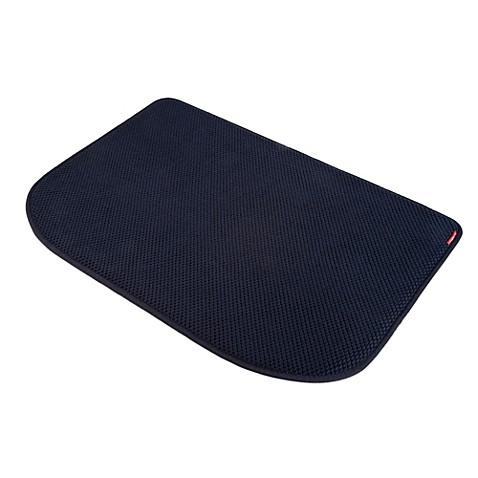 microdry memory foam luxury kitchen mat in black bed bath beyond. Black Bedroom Furniture Sets. Home Design Ideas