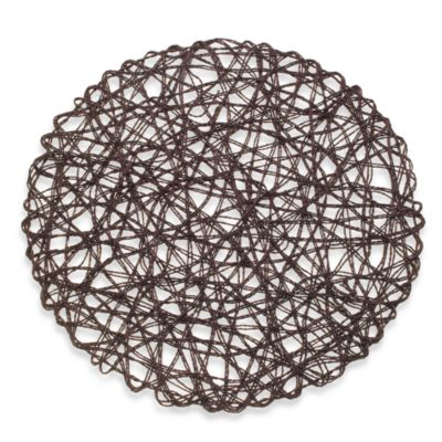 Bridgehampton Paper Placemat in Brown