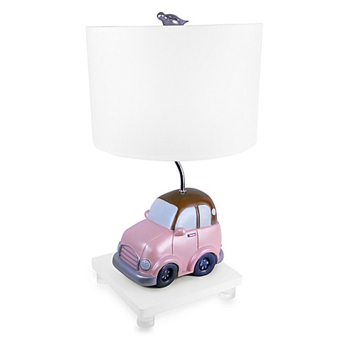 Beep Beep Table Lamp in Pink
