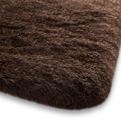 Chocolate Shag Rug