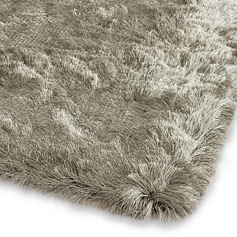 Safavieh Paris 5-Foot Round Shag Rug in Titanium