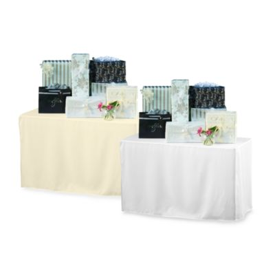 6-Foot Table Cover in White