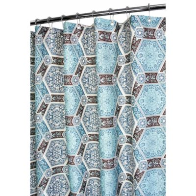 Park B. Smith® Renaissance Tiles 72-Inch x 72-Inch Watershed® Shower Curtain