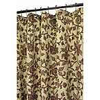 Park B. Smith® Brown Floral Swirl 72-Inch x 72-Inch Watershed® Shower Curtain