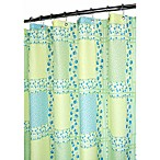 Park B. Smith® Tulip Patchwork Azure 72-Inch x 72-Inch Watershed® Shower Curtain