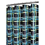 Park B. Smith® Wavy Plaid 72-Inch x 72-Inch Watershed® Shower Curtain