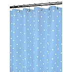 Park B. Smith® Blue Classic Polka Dot 72-Inch x 72-Inch Watershed® Shower Curtain