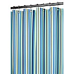 Park B. Smith® Strings Stripe Blueberry 72-Inch x 72-Inch Watershed® Shower Curtain