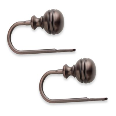 Orbit Oil Rubbed Bronze Holdbacks (Set of 2)