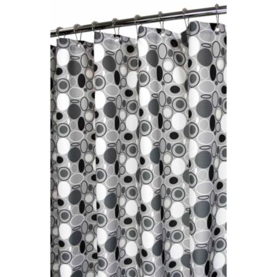 "72"" x 72 Park B. Smith® Black Watershed® Shower"