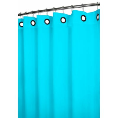 Park B. Smith® Dorset Blue Large Grommet 72-Inch x 72-Inch Watershed® Shower Curtain
