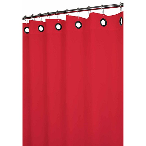 Red Toile Curtains Sale Peach Colored Shower Curtains