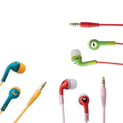Disney Loves iHome Noise Isolating Earphones with Pouch