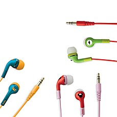 iHome® Disney Loves Noise Isolating Earphones with Pouch