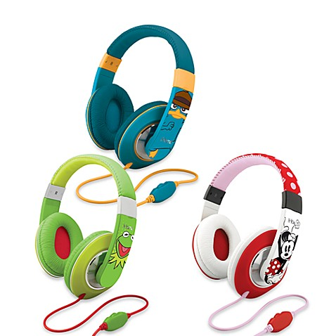 Disney Loves iHome Over-the-Ear Headphones with Volume Control - Kermit the Frog