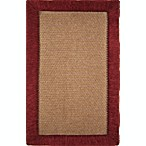 Microdry® Ultimate Luxury Border Memory Foam 57-Inch x 81-Inch Rug