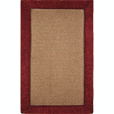 "Microdry® Ultimate Luxury Border Memory Foam 57"" x 81"" Rug"