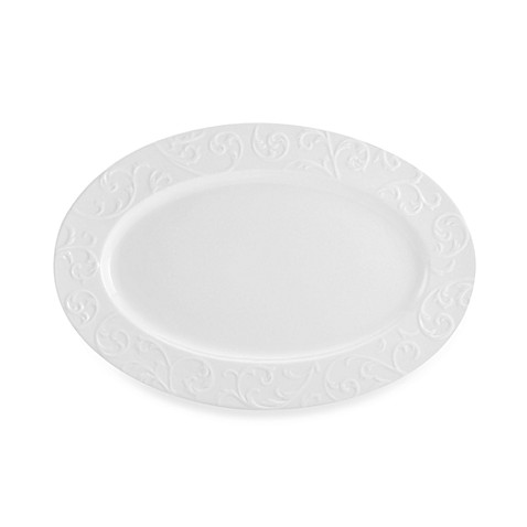 Mikasa® Parchment Engraved 16-Inch Oval Platter