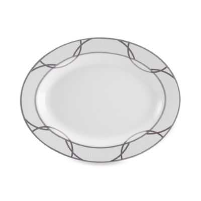 Mikasa® Wedding Ring 14-Inch Oval Platter