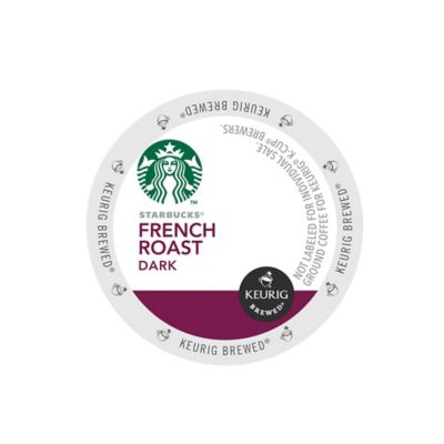 Keurig® K-Cup® Pack 16-Count Starbucks® French Roast Dark Coffee