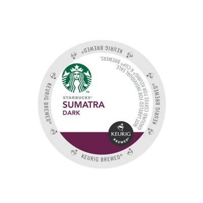 K-Cup® 16-Count Starbucks® Sumatra Dark Coffee for Keurig® Brewers