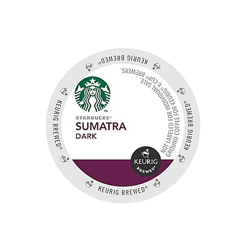 Keurig® K-Cup® Pack 16-Count Starbucks® Sumatra Dark Coffee