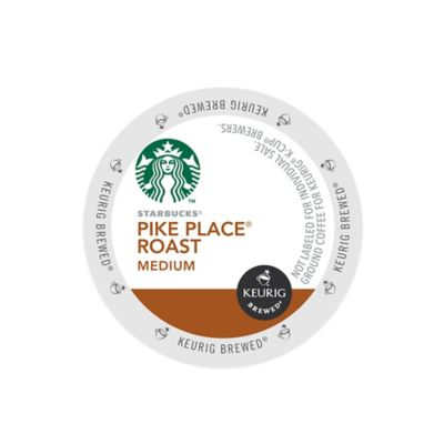 K-Cup® 16-Count Starbucks® Pike Place® Medium Roast Coffee for Keurig® Brewers