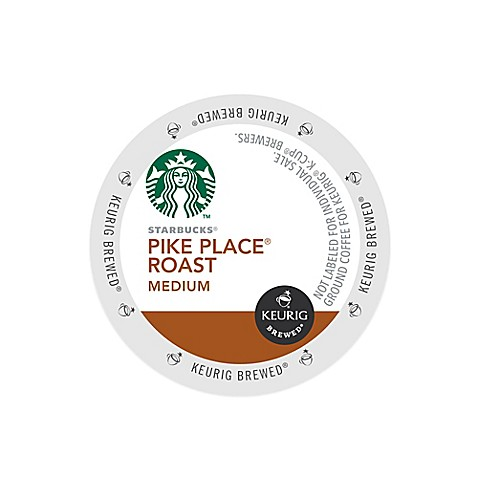 Keurig® K-Cup® Pack 16-Count Starbucks® Pike Place® Medium Roast Coffee