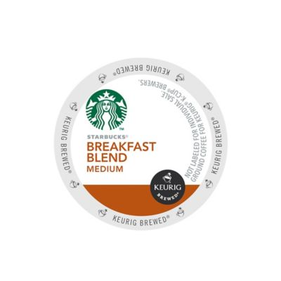 Keurig® K-Cup® Pack 16-Count Starbucks® Breakfast Medium Roast Coffee for Keurig® Brewers