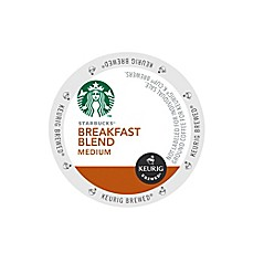 Keurig® K-Cup® Pack 16-Count Starbucks® Breakfast Medium Roast Coffee for Keurig Brewers