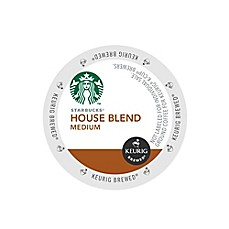 K-Cup® 16-Count Starbucks® House Blend Medium Roast Coffee for Keurig® Brewers