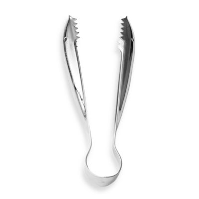 Faces Stainless Steel Ice Tongs